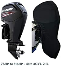 Oceansouth Mercury Outboard Storage Full Cover 4cyl 2.1L 75HP-115HP 20
