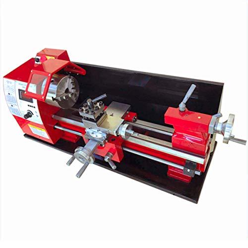 Brushless Motor WM 210v400 Mini-Drehmaschine 38mm Spindelbohrung 125 mm Spannfutter gewöhnliche kleine Drehmaschine