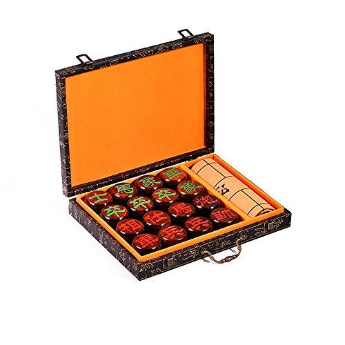 Keliour-toys - Chinesisches Schach in As Picture, Größe Piece diameter 4.8cm