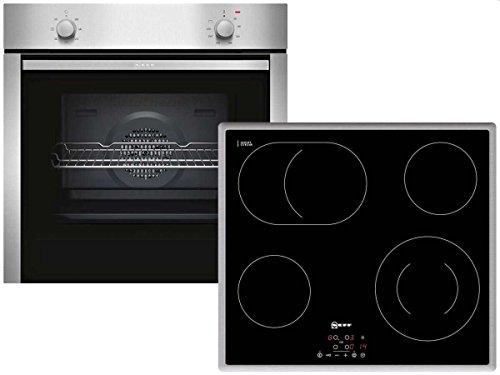 Neff XB16 Einbau Backofenset Ofen BCA1502 + Glaskeramikkochfeld TB1842N Küche