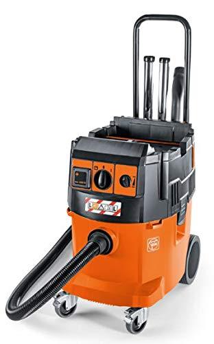 Fein Dustex 35 LX 92029060000 - Aspiradora en seco y húmedo (arranque automático, arranque suave; 35 L, 1380 W, 4320 l/min, 254 hPa)