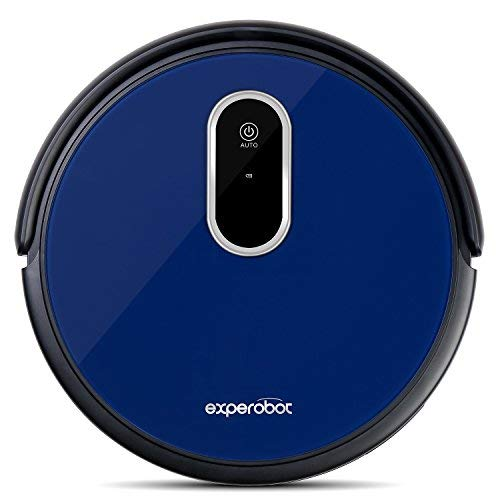 Experobot EX503 Roboter Staubsauger 1600Pa mit starker Saugkraft Automatischer Staubsauger Roboter Routenplanung, Selbstaufladung, Saugkraft mit HEPA-Filter speziell für die Allergiker