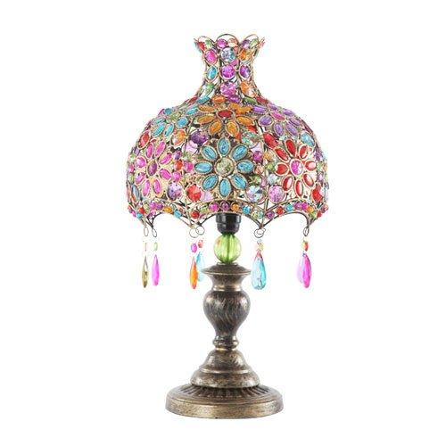 ぼん家具 テーブルランプ スタンドランプ 間接照明 卓上ライト シェード LED電球対応 アジアン