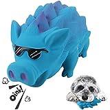 G.C Hund Kauspielzeug Quietschspielzeug unzerstörbares Hunde Schwein Spielzeug Natürliches Gummi...