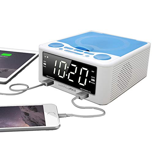 best clock radio cd player hannlomax