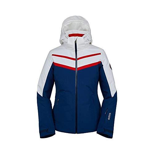 Spyder W Captivate GTX Infinium Jacket Blau, Damen Gore-Tex Regenjacke, Größe 10 - Farbe Abyss