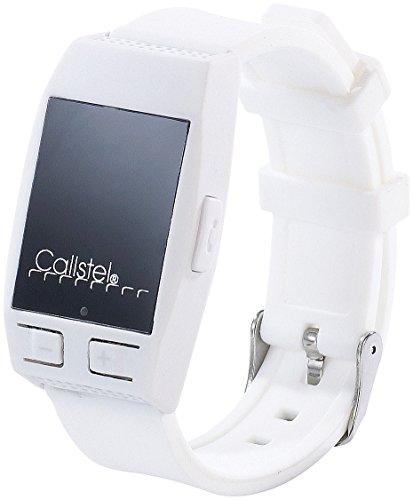 Callstel Freisprecharmband: Freisprech-Armband mit Bluetooth & Lautsprecher, weiß (Sprechende Smartwatch)