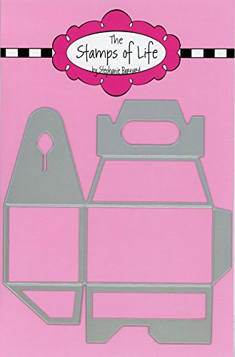 Mini Handle Box Die Set for Card-Making and Scrapbooking Supplies by The Stamps of Life - Create Your Own Gift Box