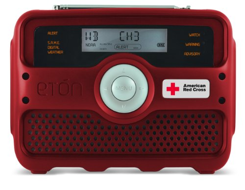 Etn ARCFR800 American Red Cross Weather Tracker - NOAA and S.A.M.E. Weather Radio Plus Alert (Discontinued by Manufacturer)
