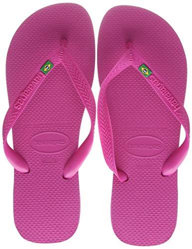 Havaianas Unisex-Erwachsene Brasil Flipflop, Pink Flux, 39/40