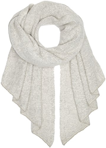 PIECES Damen Schal Pcpyron Long Scarf Noos, Grau (Moonbeam), One size