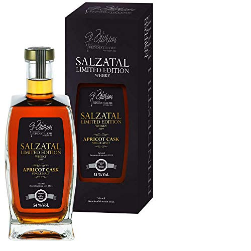 Salzatal Whisky Limited Edition 2019 - Apricot Cask - Produziert in Sachsen Anhalt