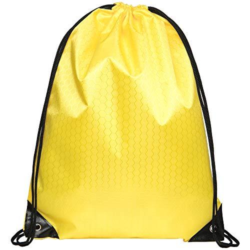 JUNMA Sport Freizeit Sporttaschen Fahrradrucksäcke Turnbeutel Gym Bag Rucksack Camping & Outdoor (Gelb-1, 1pc)
