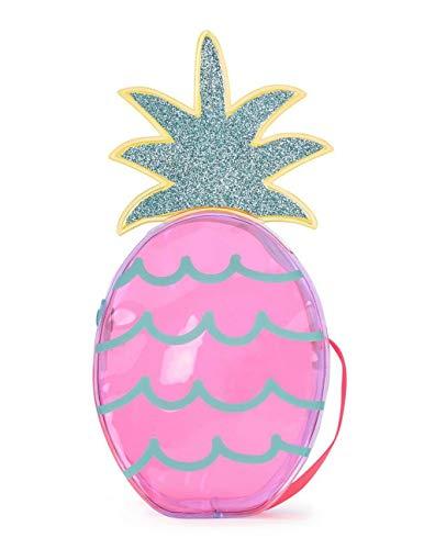 Billieblush - Borsa a forma di ananas trasparente