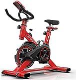WGFGXQ Salud y Cuidado Personal Bicicleta estática para Ciclismo en casa o en Interiores, Bicicleta giratoria súper silenciosa, Bicicletas para Bajar de Peso con Pedales, Equipo de Entrenamiento pa