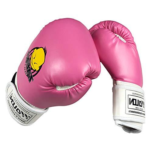 Huining - Guantes de boxeo para niños, guantes de entrenami