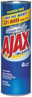 Ajax Powder Cleanser with Bleach, 28-Oz - 12 Cans/Carton (5 Cartons)