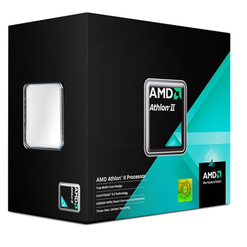 AMD ADX280OCGMBOX Athlon II X2 280 Sockel AM3 (3,6GHz, 2MB L2-Cache, 65 Watt)