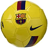 Nike FCB NK SPRTS Ballons Match Football Adulte Unisexe, Varsity Maize/Noble Red/(Deep Royal Blue), 5