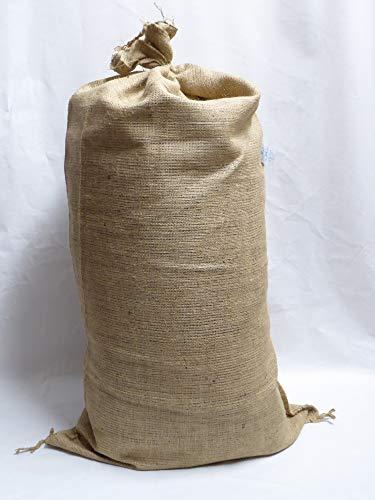 Onlineshopreich 10 Jute Säcke Jutesäcke Kartoffelsäcke Sack 25 Kg fassend ca. 51 x 86,5 cm