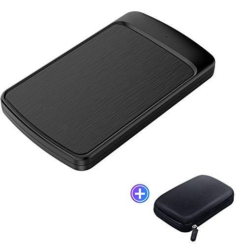 Festplatten, Externe Festplatte 2,5'' SATA zu USB 3.0'' Festplattengehäuse für SSD Disk HDD Box HD Tool Kostenlos 4 TB Computer-Festplattenbox (Size : C)