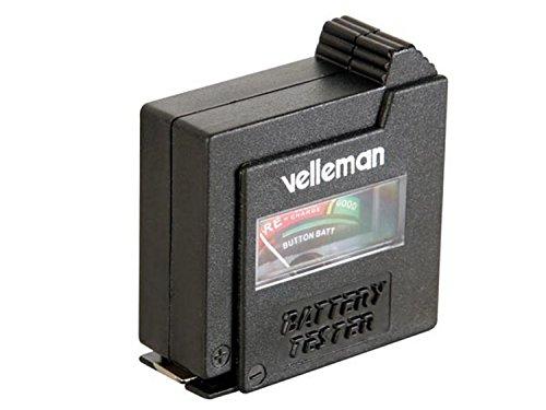VELLEMAN - BATTEST Batterietester- Taschenformat, 1 W, 1 V 240050