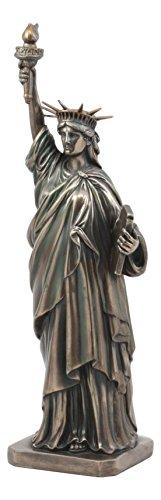 Ebros Freiheitsstatue National Denkmal, 30,5 cm hoch, Premium Lady Liberty Statue Figur New York Symbol der Freiheit La Liberté
