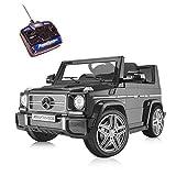 Playkin MERCEDES-BENZ 4X4 G65 - Coche electrico niños bateria 12V con mando control +3 años juguetes infantiles bateria coches de bateria
