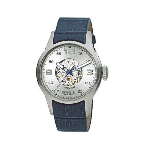 Breil BW0272 - Reloj, Correa de Piel de Borrego Color Azul