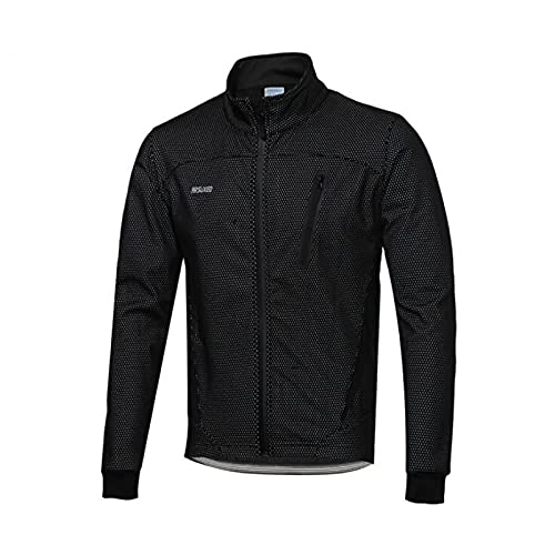 SHIXUE Chaqueta de Ciclismo para Hombre, Impermeable, a Prueba de Viento, Jersey de Bicicleta, Abrigo térmico cálido MTB, Rompevientos