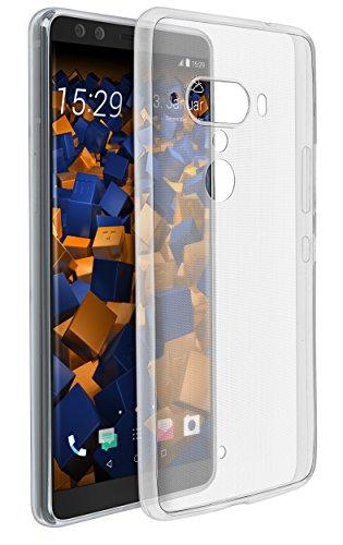 mumbi Hülle kompatibel mit HTC U12+ Handy Hülle Handyhülle dünn, transparent