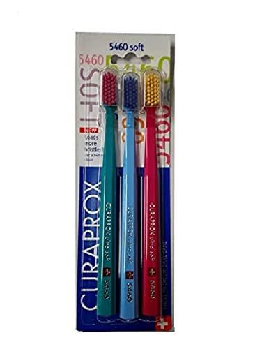 Curaprox 5460 Ultrasoft Toothbrush, 3 Pack
