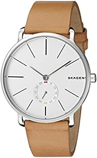 Skagen Men's SKW6215 Hagen Light Brown Leather Watch
