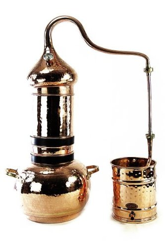 CopperGarden Kolom Distilleerketel 3 liter & Thermometer
