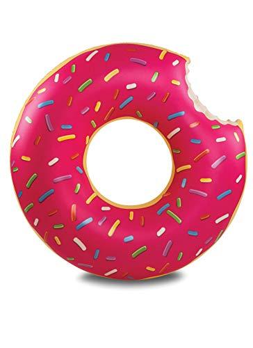 BigMouth Inc Flotador de Piscina Donut Helado (Fresa)
