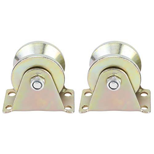 Sliding Gate Roller, V Groove Wheel Easy Installation for Dog Doors