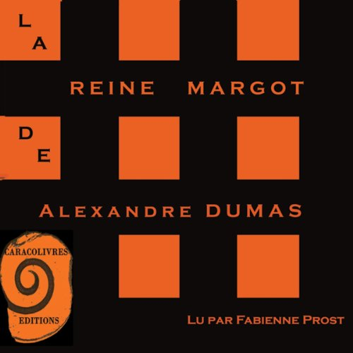 La Reine Margot audiobook cover art