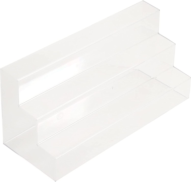 WEMUR Storage Cabinet Multilayer Transparen Acrylic Display Stan