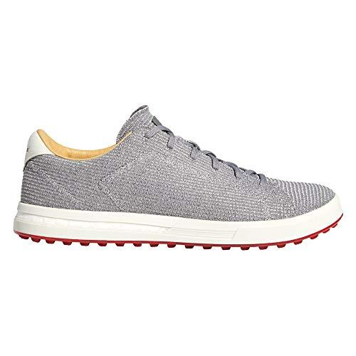 adidas Mens Adipure Sp Knit Spikeless Golf Shoes Grey Medium 8.5
