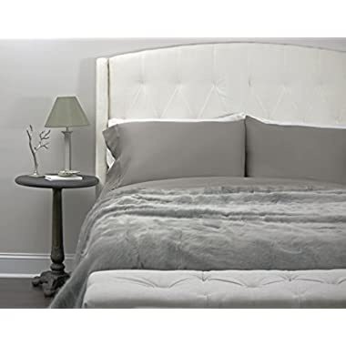 Paradise Bamboo Sheets by Oasis - 4 Piece Sheet Set - Softest Bed Sheets (Queen, Storm)
