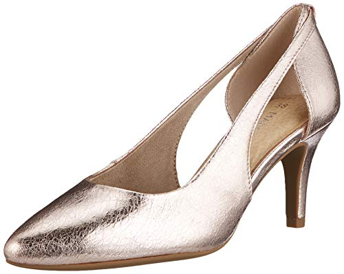 Marco Tozzi Damen 2-2-22444-24 Pumps, Pink (Rose Metallic 592), 41 EU