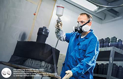 Dräger X-plore Bajonett Kombinations-Filter A2 P3 für Gase und Partikel   7 Paar   Ersatzfilter für Voll- und Halbmasken X-plore 3300, 3500 und 5500 - 4