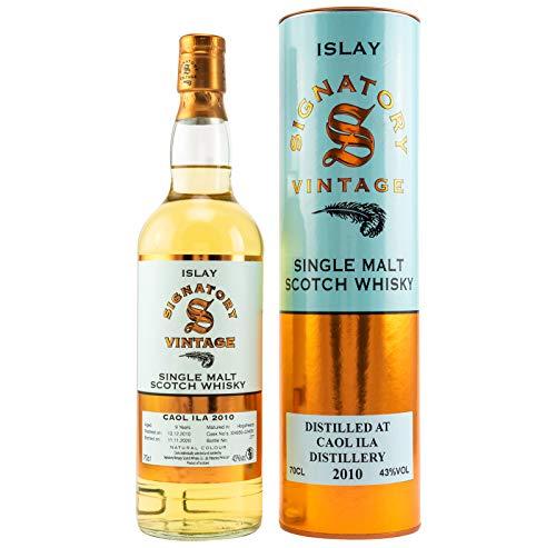 Caol Ila 2010 - Signatory Vintage - Single Malt Whisky (1x0,7l)