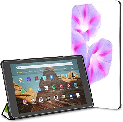 Funda para Tableta Blooming Morning Glory Vine Fire HD 10 (9a / 7a generación, versión 2019/2017) Funda para Lector Kindle Fundas y Fundas para Kindle 10 Auto Wake/Sleep para Tableta de 10.1 pulgad