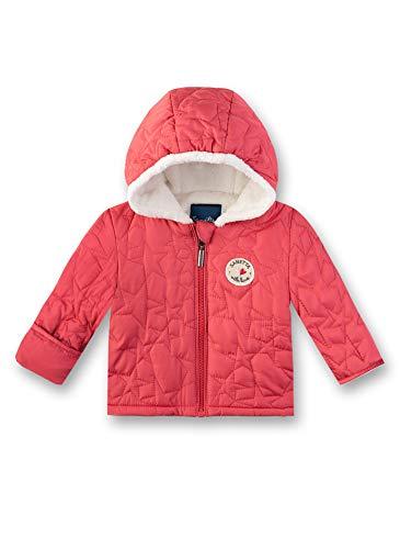 Sanetta Baby-Mädchen Outdoorjacket Jacke, Rot (Strawberry 3458), 68 (Herstellergröße: 068)