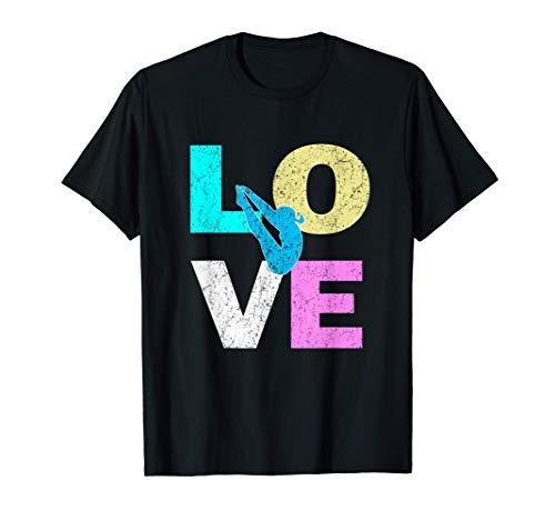 かわいい恋の踏み台ダイバー&ダイビング愛好家 Tシャツ