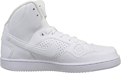 Nike Unisex-Kinder Son of Force Mid (Gs) Sport & Outdoorschuhe, Weiß (White / White-White), 37.5 EU