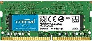 Crucial 16GB (1 x 16GB) DDR4 2666MHz DRAM (Notebook Memory) CL19 1.2V DR SODIMM (CT16G4SFD8266)