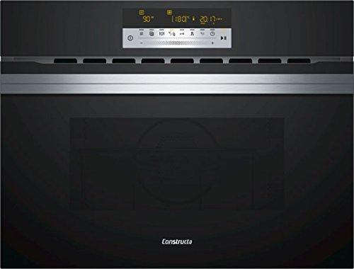 CONSTRUCTA CC4W91860 Einbau-Kompaktbackofen mit Mikrowelle/Glas