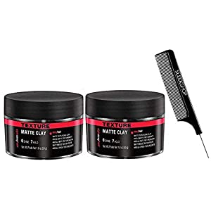 Beauty Shopping Stylesexyhair Style Hair Matte Clay, Texture, 0 Shine, 7 Hold (2-Pack with Sleek